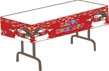 Photo of a Kids Korner Table Cloth on a table
